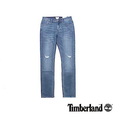Timberland 男款藍色Mirror Lake仿舊牛仔褲
