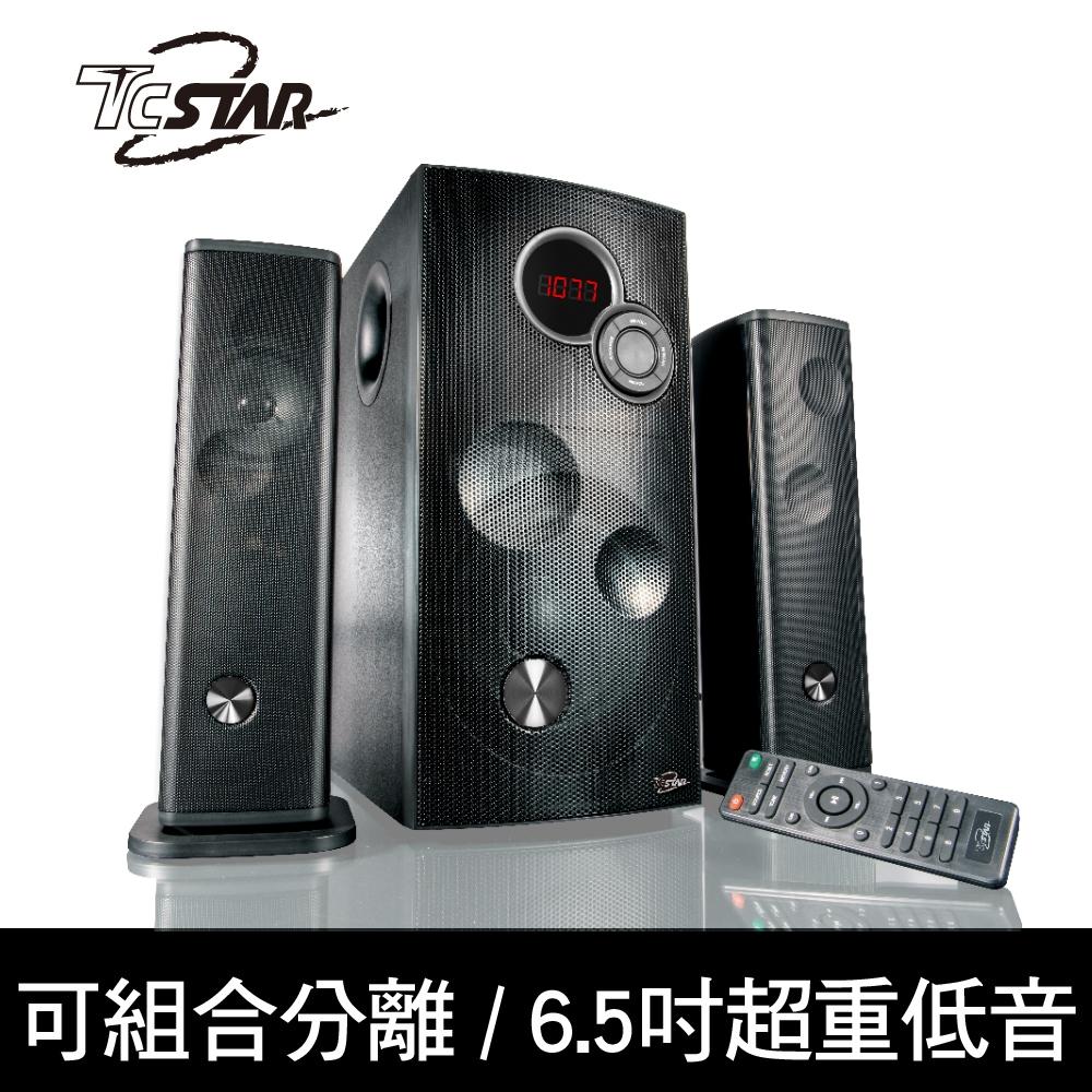 TCSTAR 可分離式藍牙/FM/USB/AUX 2.1環繞劇院喇叭 TCS9200