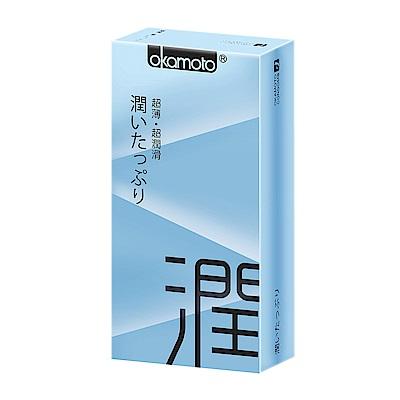 okamoto岡本-City極潤型保險套(10入)