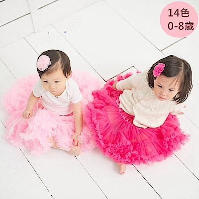日安朵朵 女嬰童雪紡蓬蓬裙 - 多色可選