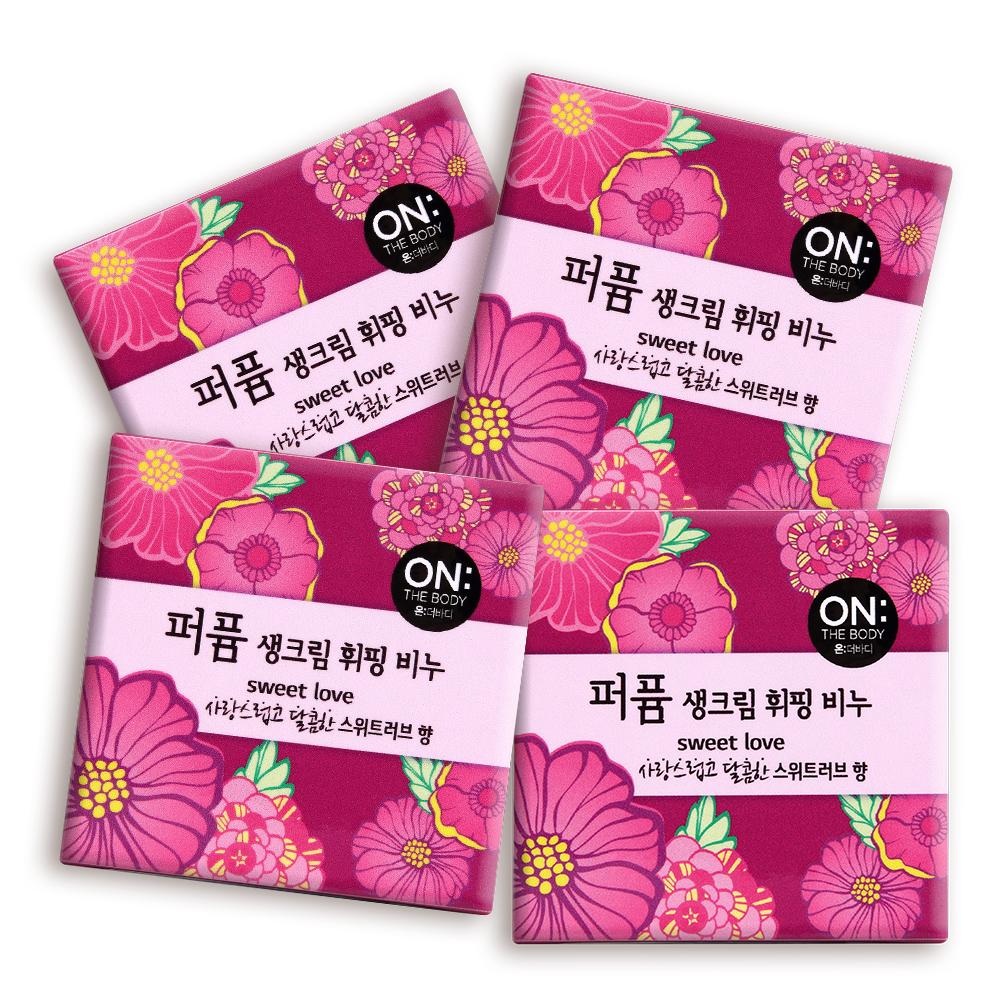ON THE BODY 經典香水香皂任選8入(4入x2)