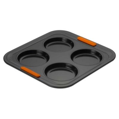 LE CREUSET 圓形四格烤盤23x23x2cm