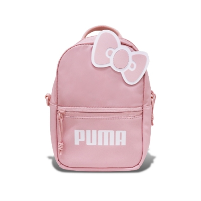 PUMA x HELLO KITTY雙肩後背包 粉-07718801