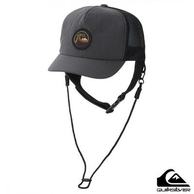 【QUIKSILVER】UV SURF CAP 棒球帽 黑色