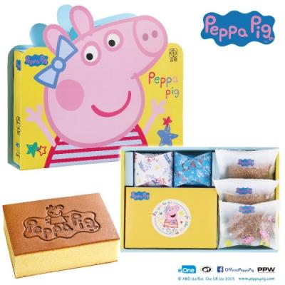 金格 佩佩豬套圈圈蛋糕禮盒Peppa Pig