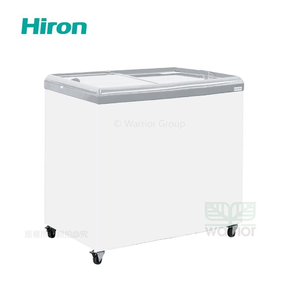 Hiron海容 2尺7 平面玻璃推拉冷凍櫃 (HSD-258)