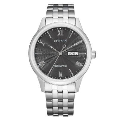 CITIZEN 星辰Mechanical簡約質感機械腕錶NH7501-85H