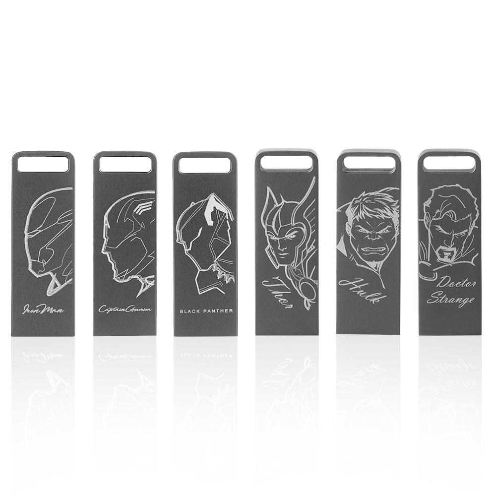 達墨TOPMORE 漫威系列ZXM 16GB USB3.0 鐳刻版