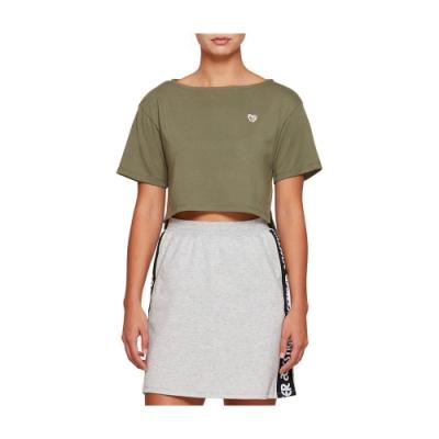 ASICS 短版上衣 女 2192A024-300 (綠)