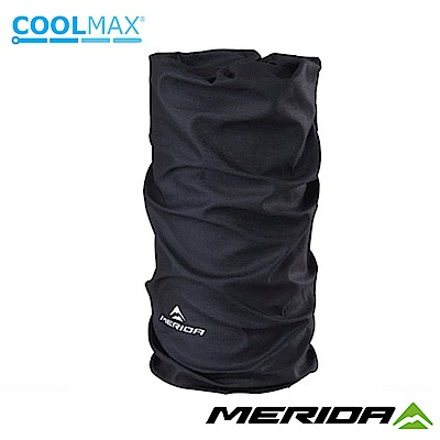 《MERIDA》美利達 Coolmax頭巾 黑 2309004083