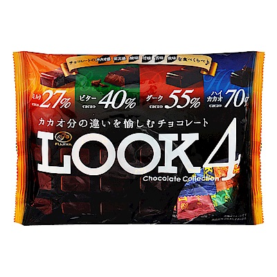 不二家 Look四層次代可可脂巧克力(185g)