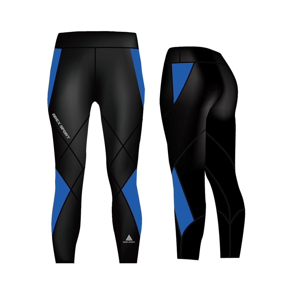 AREX SPORT  雙層萊卡女款加強極致重壓縮褲(適合高強度運動)