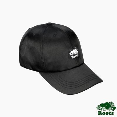 Roots配件-璀璨銀河系列海狸LOGO棒球帽-黑色