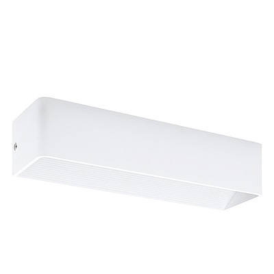 EGLO歐風燈飾 時尚白LED美型壁燈
