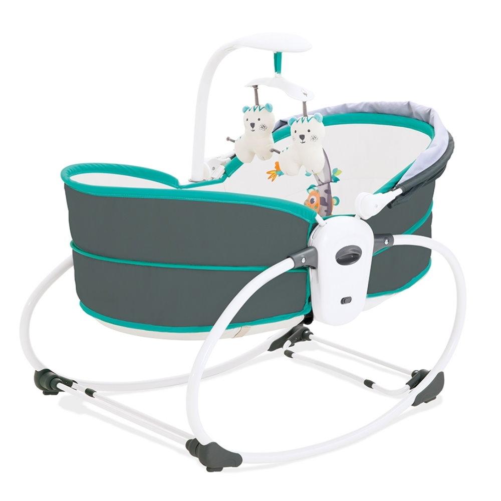 KOOMA 5合1 睡箱式搖椅-珊瑚綠