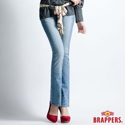 BRAPPERS 女款 Lady Vintage 系列-女用彈性小喇叭褲-淺藍