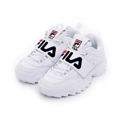 FILA DISRUPTOR 運動鞋-白 5-C619T-125