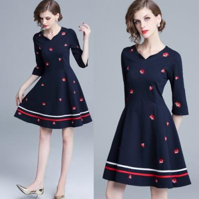 【KEITH-WILL】時尚元素氣質魅力洋裝