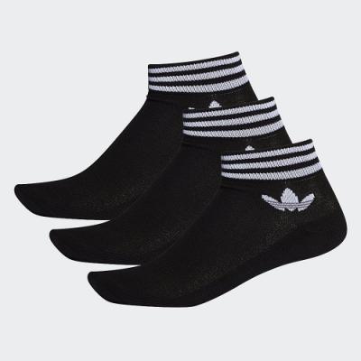adidas ADICOLOR 腳踝襪 3 雙入 男/女 EE1151