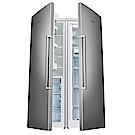 Bosch博世 537L 1級變頻獨立式對開電冰箱 冷藏KSF36PI30D冷凍GSN36