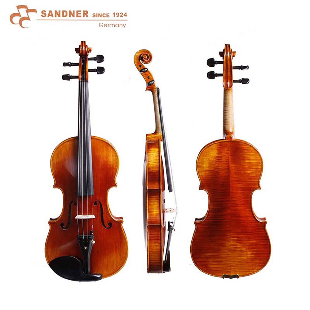 法蘭山德Sandner TA-26 中提琴~加贈肩墊/調音器/擦琴布