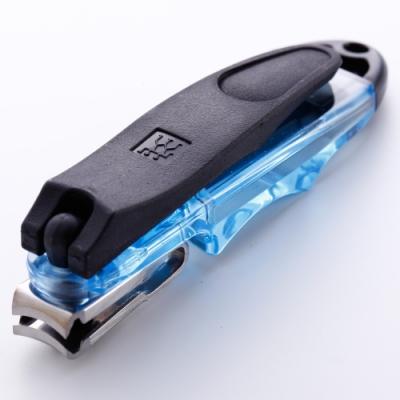 Zwilling 雙人牌 Classic Inox 攜帶型指甲剪 藍色