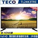 TECO東元 24吋 FHD 低藍光液晶顯示器+視訊盒 TL24K3TRE