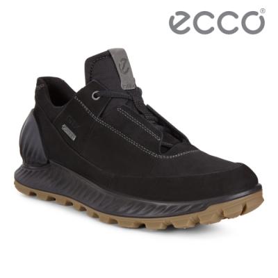 ECCO EXOSTRIKE 突破極限低筒運動戶外靴 男-黑