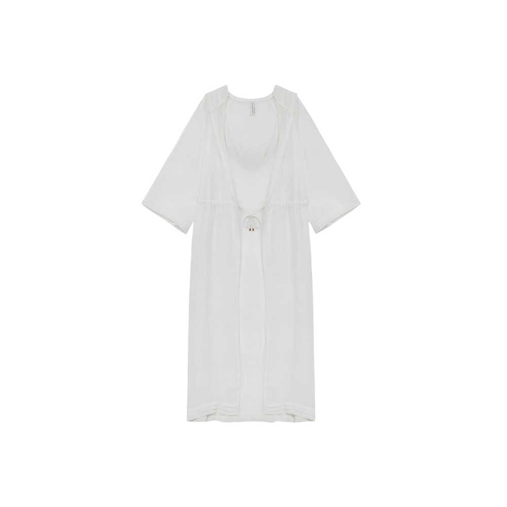 WAVE SHINE-雪紡飛舞連帽罩衫-女【TWS133】
