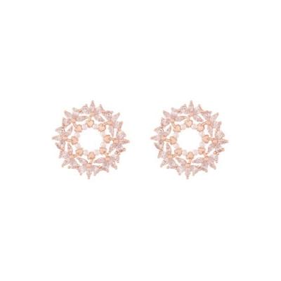 NOONOO FINGER MISTY ROUND 耳環
