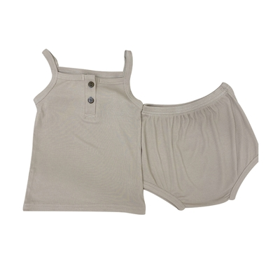 Baby童衣 兒童家居服套裝 超彈力吊帶無袖睡衣 88698