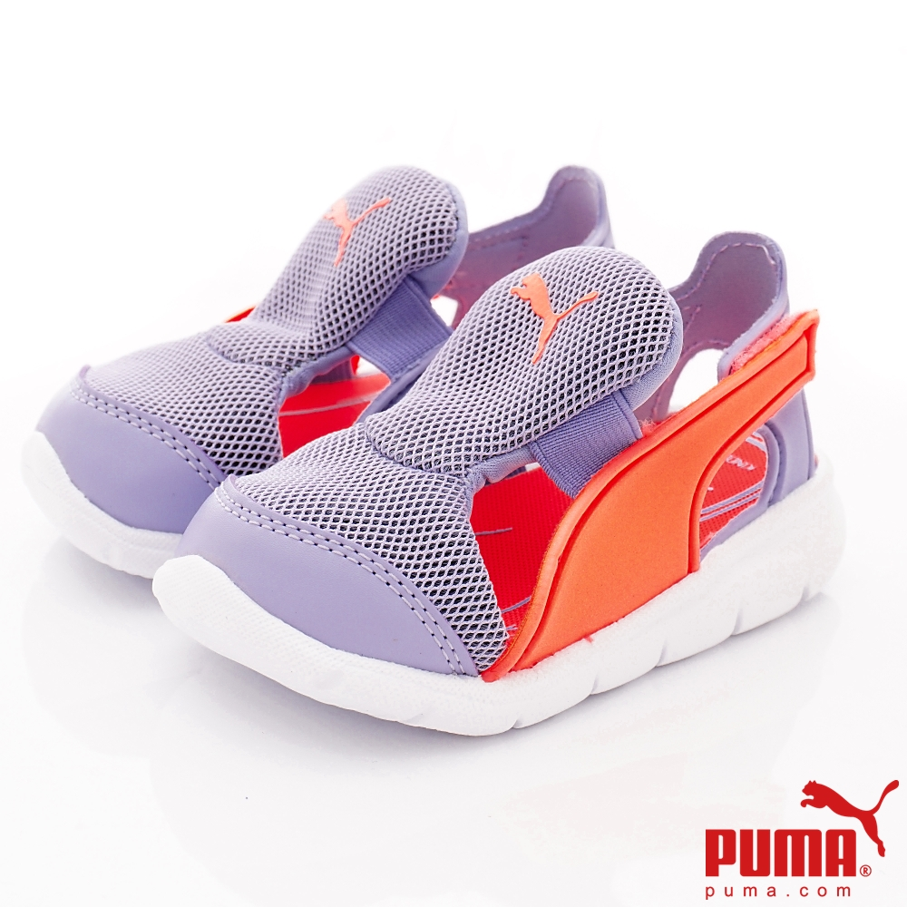 PUMA童鞋 輕量護趾涼鞋款 ON90699-04紫(小童段)
