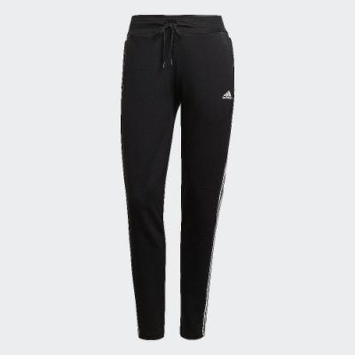 ADIDAS 長褲 運動長褲 健身 訓練 慢跑 女款 黑 GL4058 3-STRIPES