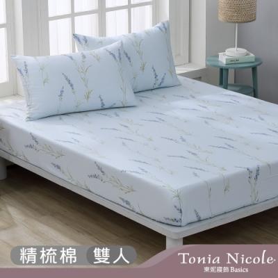 Tonia Nicole 東妮寢飾 春日華爾滋100%精梳棉床包枕套組(雙人)