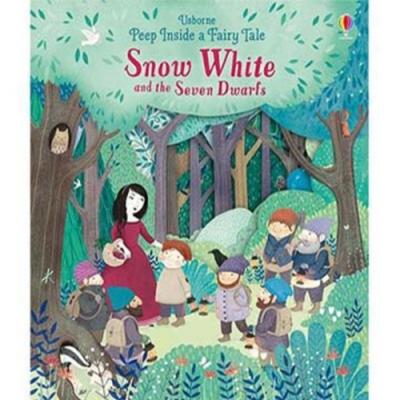Snow White And The Seven Dwarfs 白雪公主與七個小矮人瞧瞧看翻翻操作書