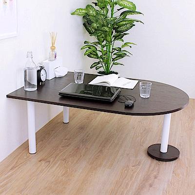 頂堅 蛋頭形和室桌/矮腳桌/餐桌-深80x寬120x高45cm-二色