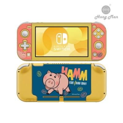 【Hong Man】迪士尼系列 任天堂Switch Lite保護殼 火腿豬