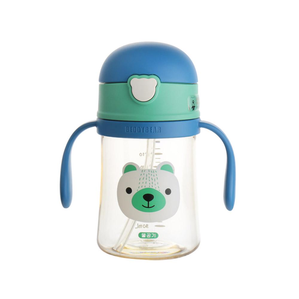 韓國 BEDDY BEAR 學飲系列兒童飲水杯240ML(小熊)
