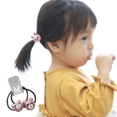 JoyNa兒童髮夾 卡通髮圈嬰兒皮筋髮飾(5組入)