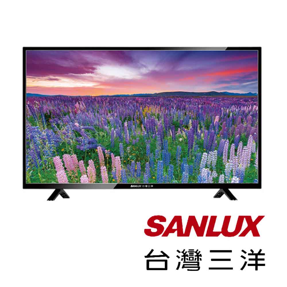 SANLUX三洋 49型LED背光液晶顯示器+視訊盒 SMT-49TA1
