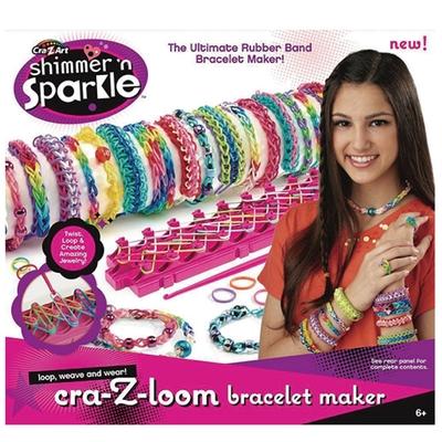 【美國Cra-Z-Art】Cra-Z-Loom 彩虹圈圈益智編織組(編織器+鉤針+S扣環+橡皮筋)