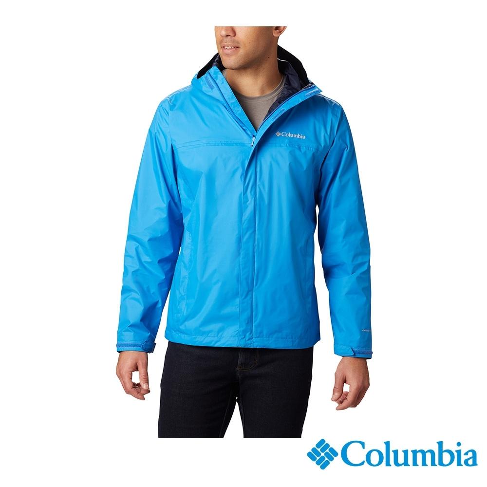 Columbia 哥倫比亞 男款- Omni TECH 防水快排外套-藍色