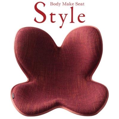 【菱格防滑限定款】Style 美姿調整椅(深紅色)