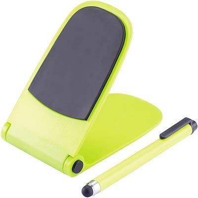 XDDESIGN 自動彈升觸控筆手機座(綠)