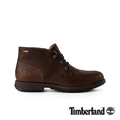 Timberland 男款深棕色全粒面CitysEdge休閒鞋|A1R2D