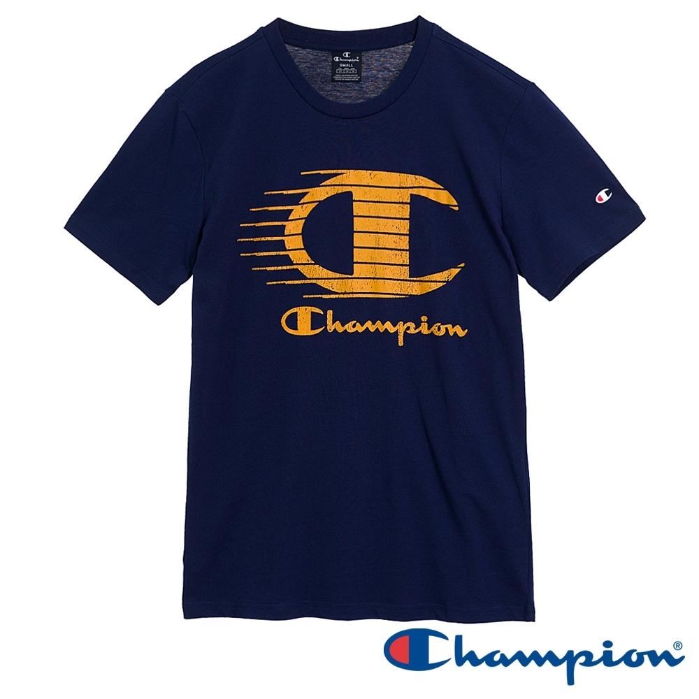 Champion EU Legacy印花短T(深藍色)