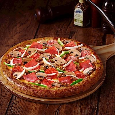 達美樂大披薩提貨兌換券(五張)