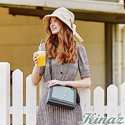 KINAZ x PEANUTS™ 追夢日記斜背包-薄荷糖綠-勇敢愛系列