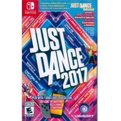舞力全開 2017 Just Dance 2017 -NS Switch 英文美版
