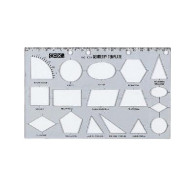 COX三燕 幾何圖形板 C79